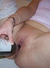 My naughty chubby wife has a really nice smoking pussy!